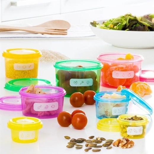 Recipientes de Equilíbrio Nutricional (7 peças)