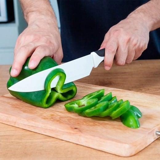 Conjunto de Facas Top Chef Brancas (6 peças)