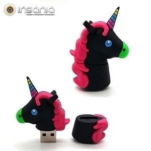 Pen Drive Unicórnio Colorido 8GB