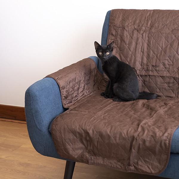 Protetor de Sofá de 1 Lugar Reversível