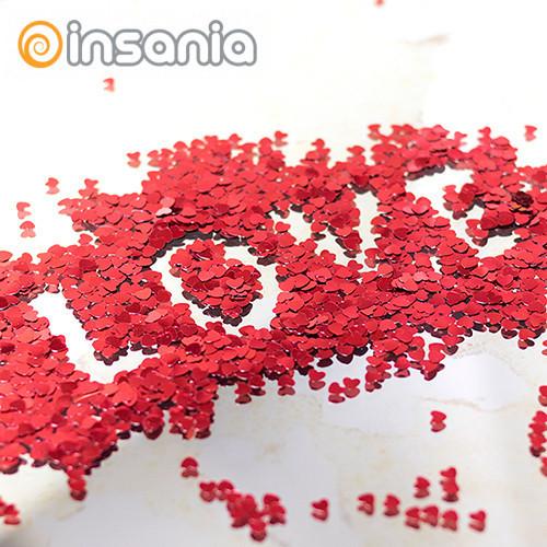 Confettis Coração