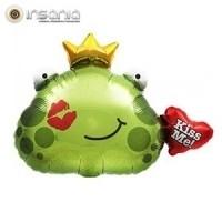 Balão Foil Kiss Me Sapo Príncipe