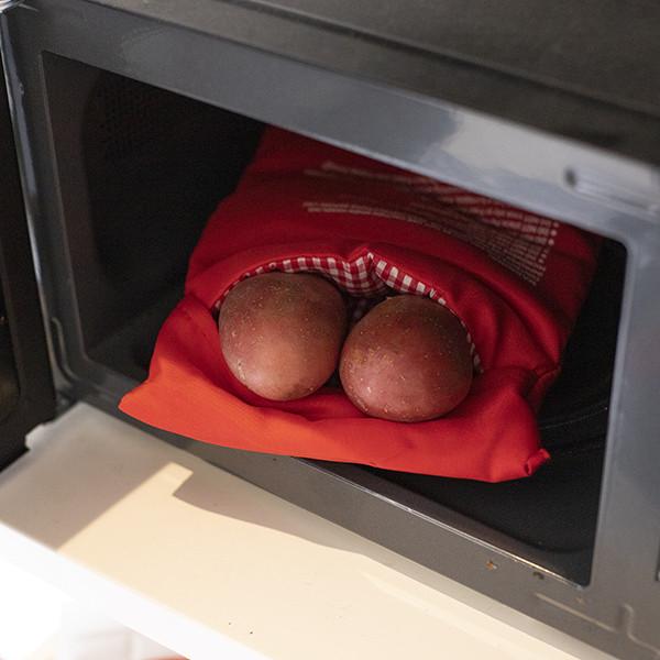 Bolsa de Cozer Batatas no Microondas