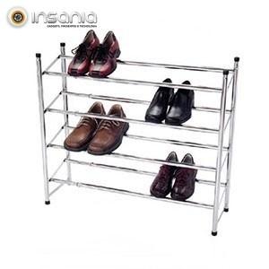 Organizador de Zapatos Extensible de 4 Alturas