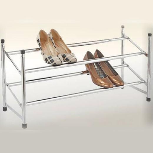 Organizador de Zapatos Extensible de 2 Alturas