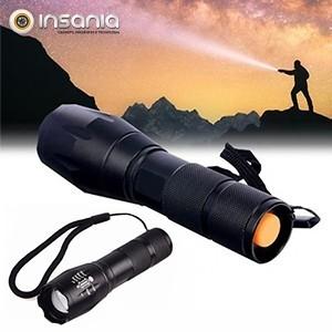 Lanterna Tática LED com Zoom