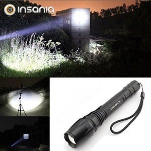 Lanterna Tática LED Viagem 80000W