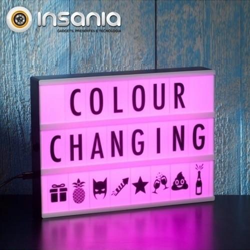 Caja de Luz de Cine Cambia de Color