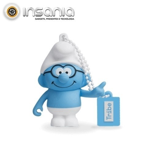 Tribe Pen Drive Smurfs Brainy 16GB