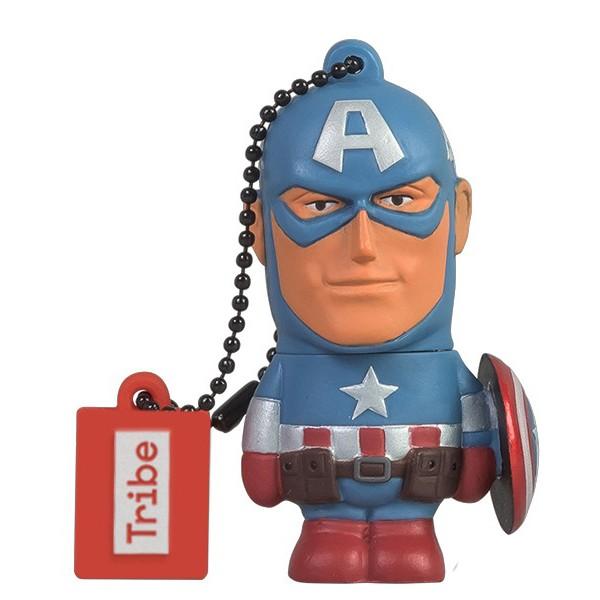 Tribe Pen Drive Marvel Captain America 16GB