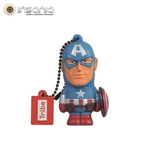 Tribe Pen Drive Marvel Captain America 16GB
