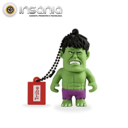 Tribe Pen Drive Marvel Hulk 16GB