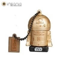 Tribe Pen Drive Star Wars Gold Edition R2-D2 16GB