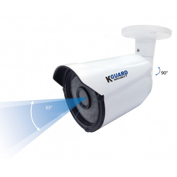 Gravador EL831 com 4 câmaras WA713A K-Guard