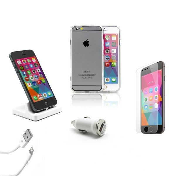 Pack Essencial iPhone  5/6/7/8 e Plus
