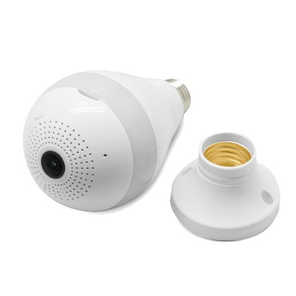 Lámpara LED con Cámara de Vigilancia 360º