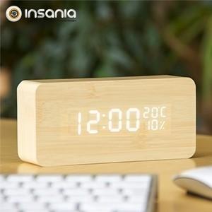 Reloj Despertador en Madera
