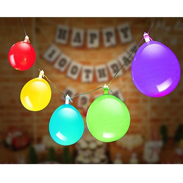 Gambiarra com Balões LED
