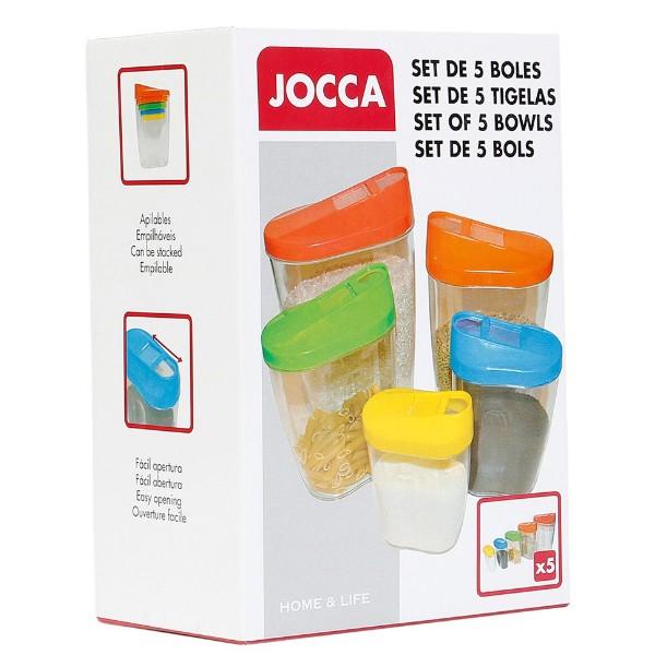 Conjunto de Caixas para Comida (Pack 5)