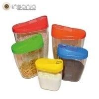 Conjunto de Cajas para Alimentos (Pack 5)