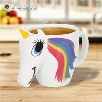 Taza de Unicornio Cambia de Color Arco iris