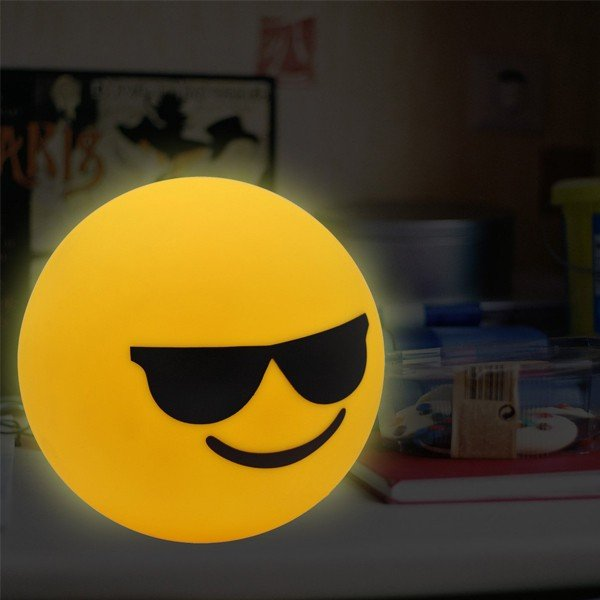 Candeeiro LED Emoticono