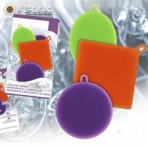 Esponjas de Cocina en Silicona (Pack 3)