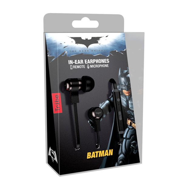 Tribe Auriculares Swing Batman