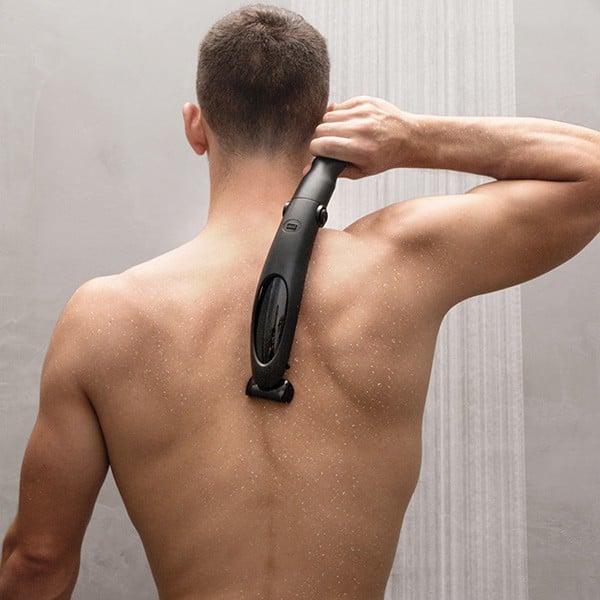 Depiladora corporal para hombre con mango extensible