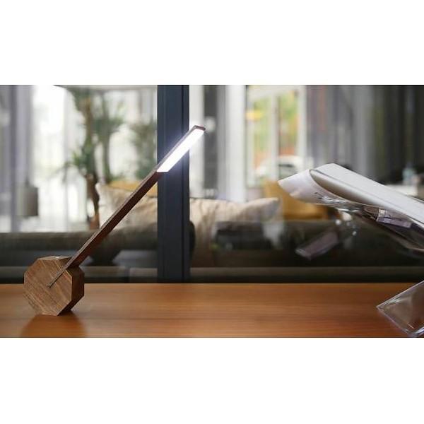 Lámpara de Escritorio Octagon One Marrón