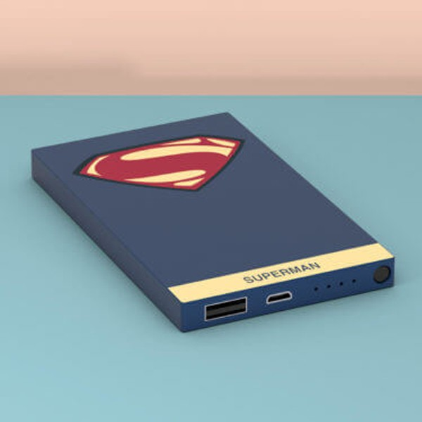 Tribe Deck Power Bank DC Comics Superman 4000 mAh