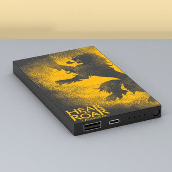 Tribe Deck Power Bank Game of Thrones Lannister 4000 mAh