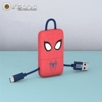 Cabo Keyline USB-Lightning Marvel Spiderman
