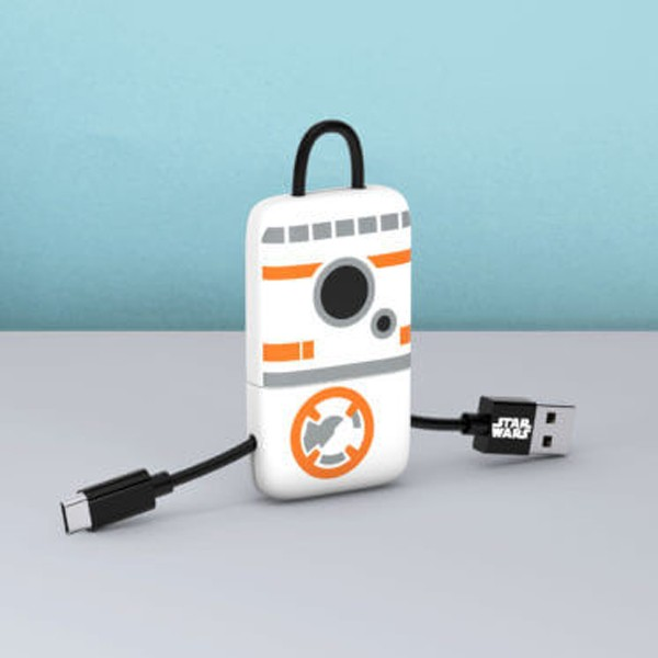 Cabo Keyline USB-Lightning Star Wars BB-8