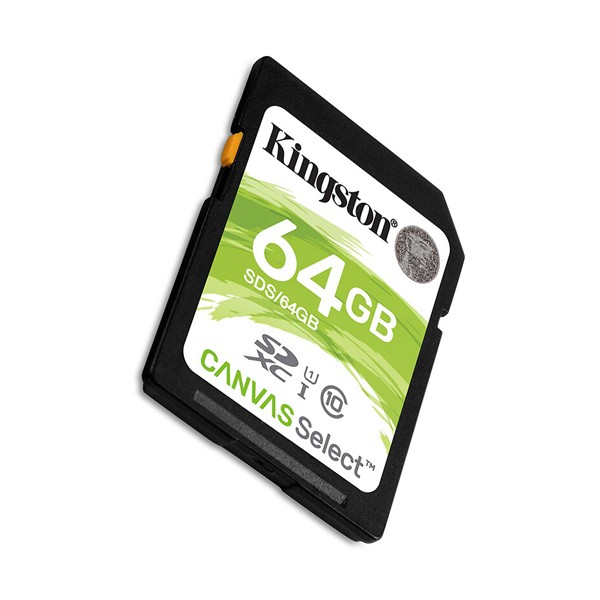 Cartão Kingston SD 64GB