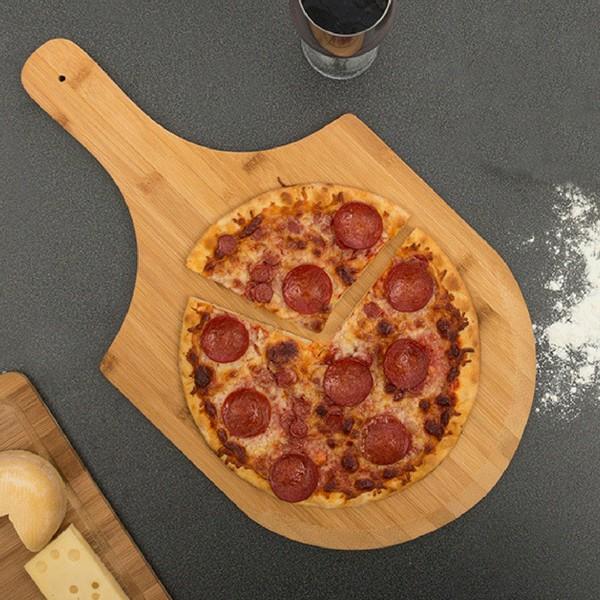 Tábua para Pizza em Bambu