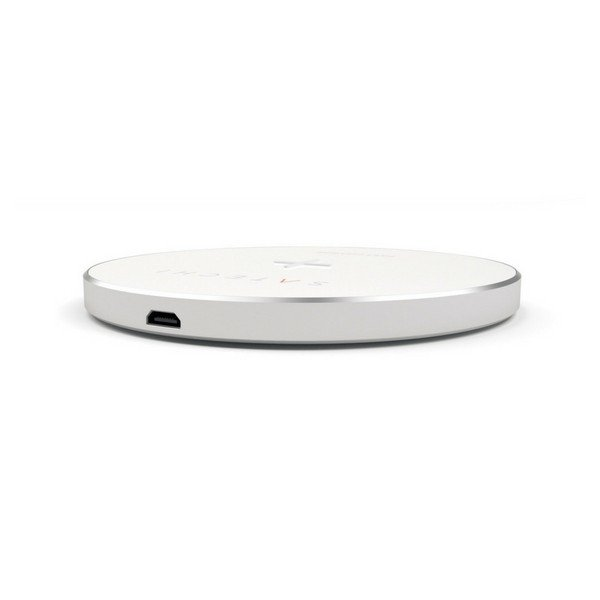Carregador Wireless QI Satechi Prateado