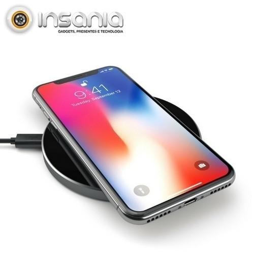 Carregador Wireless QI Satechi Cinzento