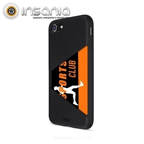 Capa Artwizz Card Case para iPhone 8/7 Preta