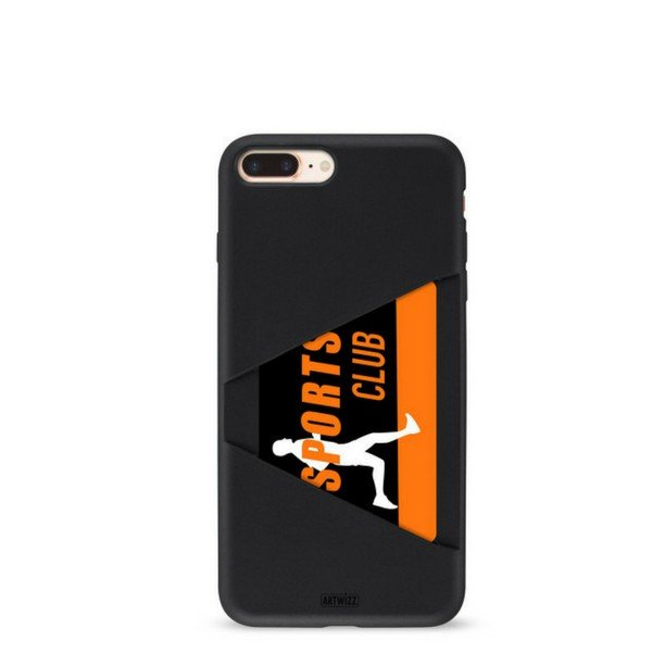 Capa Artwizz Card Case para iPhone 8/7 Plus Preta