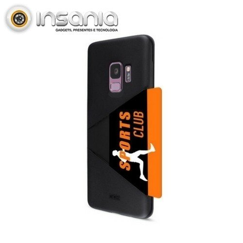 Capa Artwizz Card Case para Samsung Galaxy S9 Plus Preta