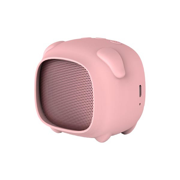 Coluna Bluetooth Porco Qushini