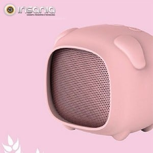 Coluna Bluetooth Porco Qushini