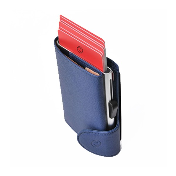 Cartera Porta Tarjetas C-secure Ögon Azul