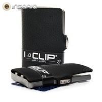 Carteira Porta-cartões I-Clip Clássica Ögon Preta