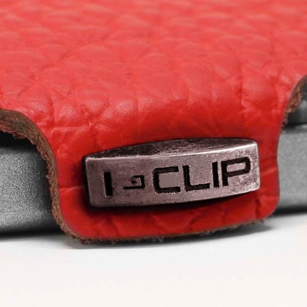 Carteira Porta-cartões I-Clip Clássica Ögon Vermelha