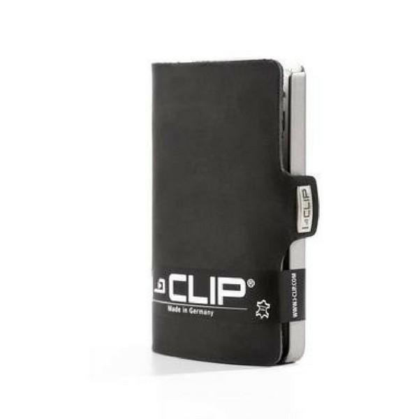 Carteira Porta-cartões I-Clip Soft Touch Ögon Preta
