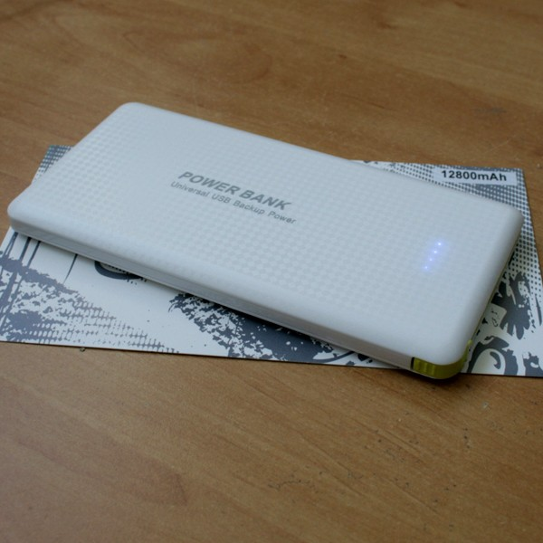 Carregador Portátil Powerbank Low Cost 12800mAh