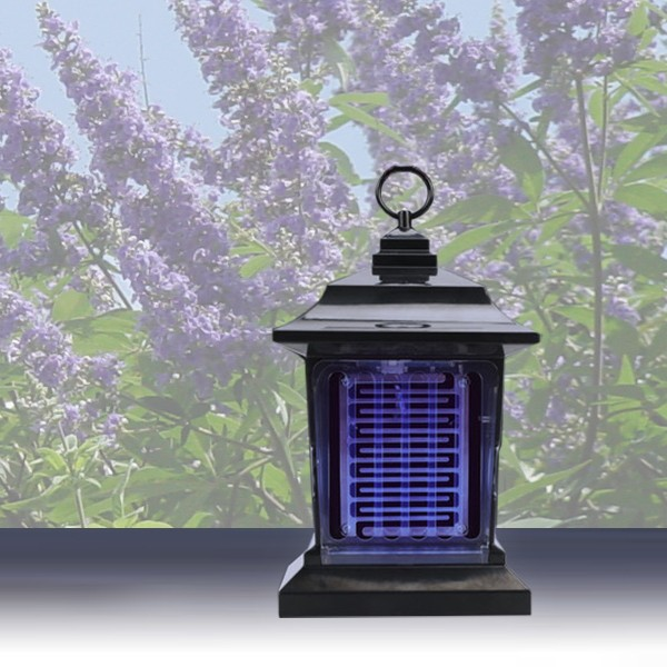 Candeeiro Solar Antimosquitos
