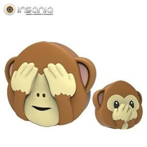 Powerbank Dupla Face Macaco Mojipower 2600mAh